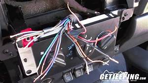 How To  Install Stereo Wire Harness In A 1997 To 2001 Jeep