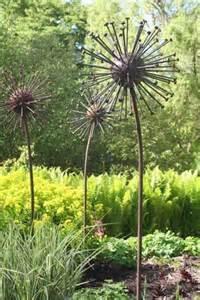 25 best ideas about garden sculpture on metal
