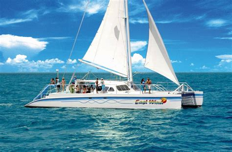 Catamaran Fajardo Icacos by Sailing Snorkeling Catamaran To Icacos Island Area