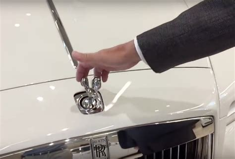 rolls royce hood ornament what happens if you try to steal the hood ornament off a