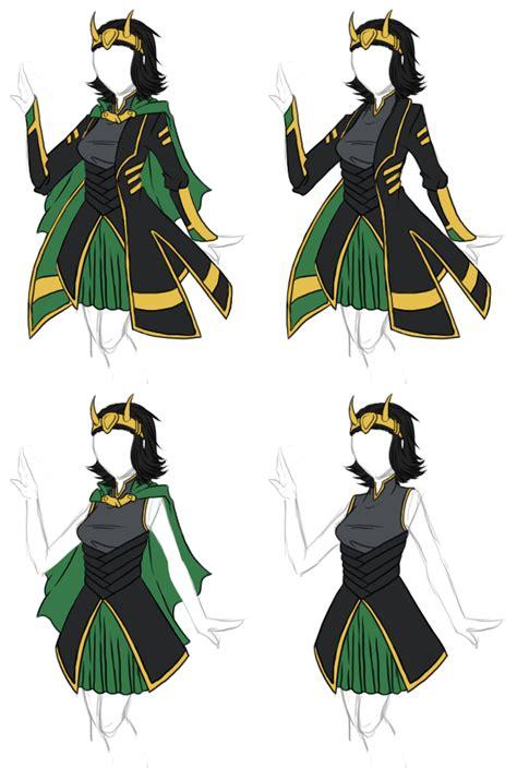 Clothing Designs Avengers Loki Dress By ~bakanekosango