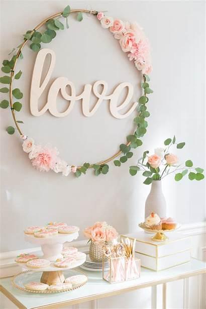Shower Bridal Hoop Blush Hula Diy Gold