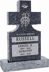 cross headstones cross grave markers honor life With cemetery lettering prices