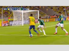 Neymar's Silky Dribbling Schools the Mexican Defense, Sets