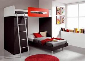 deco chambre ado garcon et fille en 48 idees With tapis de sol avec muji canapé lit