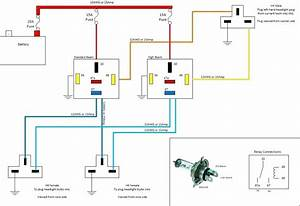 H4 Led Wiring Diagram Land Rover Defender Headlight Wiring Upgrade S Musings In Diagram