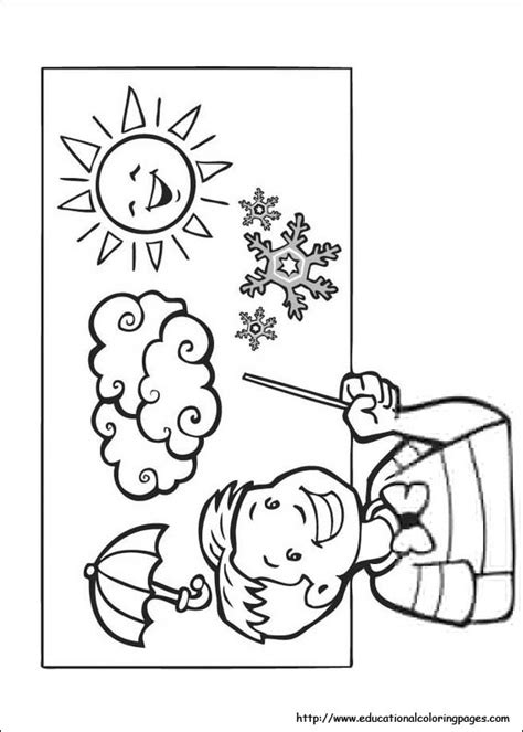 weather coloring pages   kids