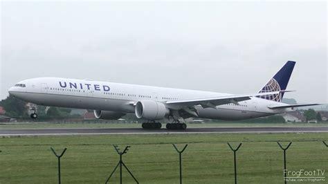 plan si鑒es boeing 777 300er air united airlines boeing 777 300er landing at