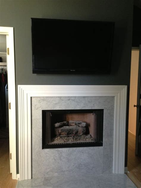 master bedroom with fireplace before after master bedroom fireplace ffe