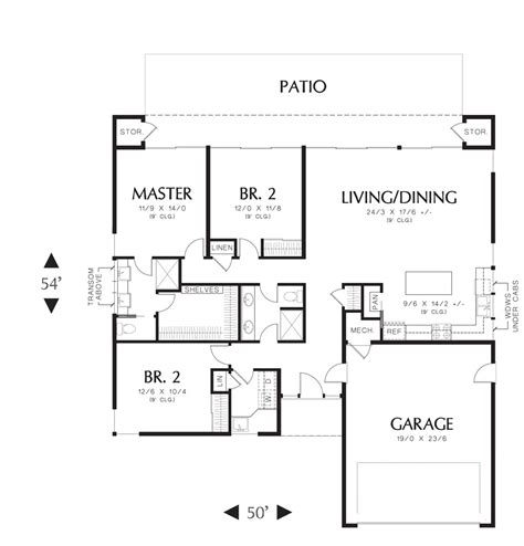 maynard   bedrooms   baths  house designers
