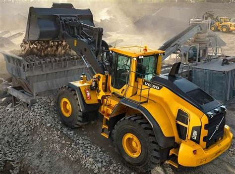 volvo construction equipment sees improved performance