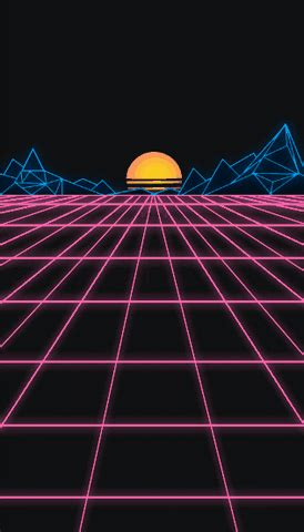 Aesthetic Neon Wallpaper Gif by 80s Aesthetic Gif Find On Giphy
