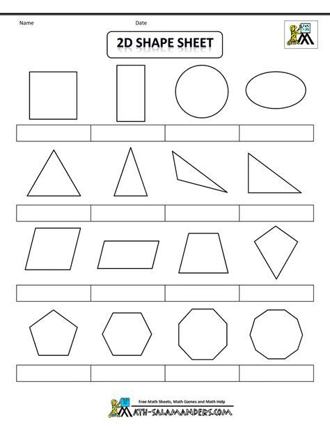 printable shapes regular  irregular shapes bw nolabgif