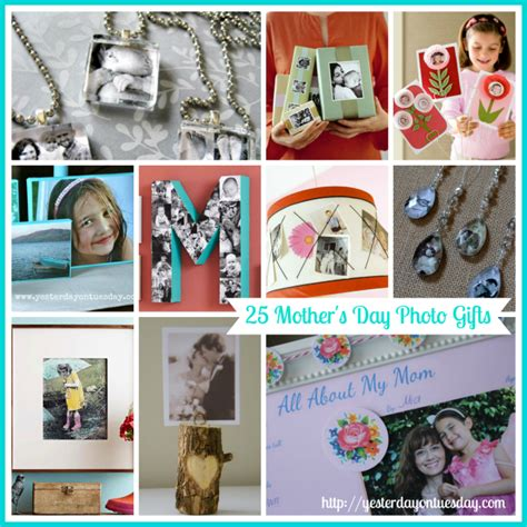 25 s day 25 meaningful mother s day photo gifts yesterday on tuesday