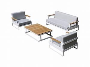 Lounge Set Aluminium : loungeset aluminium wit york stoelbank loungeset delig wit aluminium zwarte kussens avhoutdoor ~ Indierocktalk.com Haus und Dekorationen