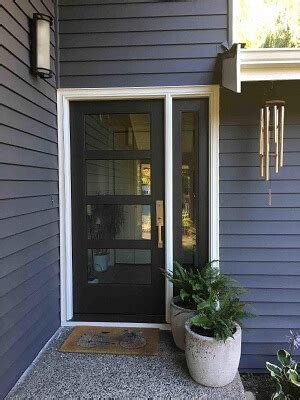 front door renovation modernizes home pella