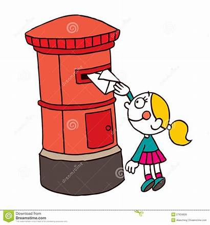Letter Office Posting Clipart Illustration Letters Topic