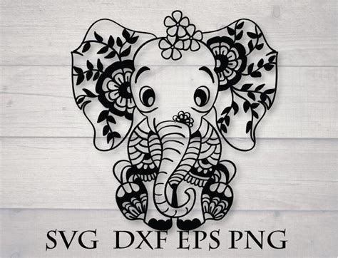 Our cut files comes with svg, dxf, png & eps files, and they are compatible with cricut, cameo silhouette studio and. 3D Animal Mandala Svg - Layered SVG Cut File