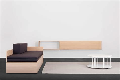 Salto Couch  Tagesliege  Schlafsofa  Bett In Holz