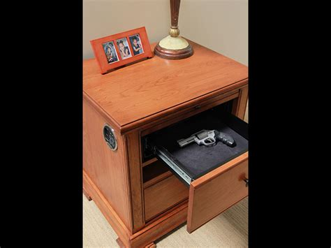 Nightstand Safe Biometric by 14 Safes To Protect Your Gear During A Disaster