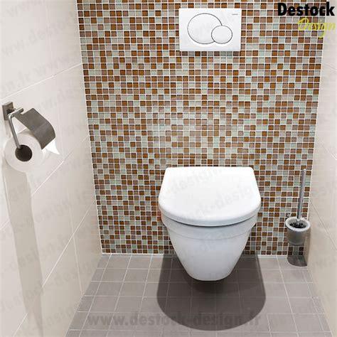 accessoires cuisine design plaque de mosaïque salle de bain wc receveur