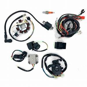 Full Electrics Stator Wiring Harness Loom Set For 150cc