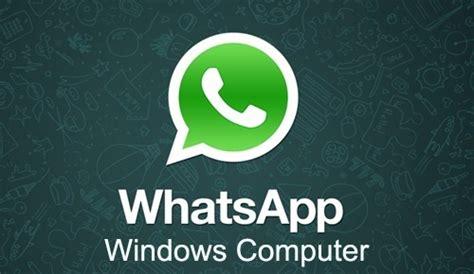 whatsapp for windows 7 computers