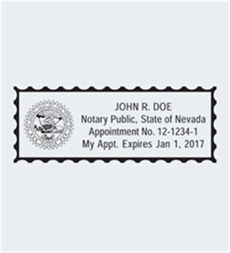 nevada notary seals nna