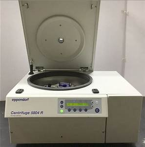Eppendorf 5804r Refrigerated Centrifuge With A
