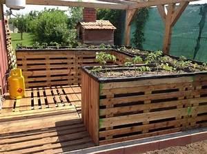 Bodenbelag Terrasse Günstig : hochbeet aus paletten bauen garten terrasse bodenbelag dirki pinterest ~ Sanjose-hotels-ca.com Haus und Dekorationen