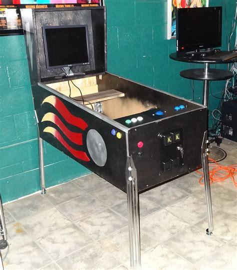 pinball cabinet build visual pinball markwheeler