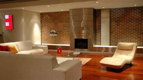Brick Wall Inside House, Brick Wall Fireplace Design Ideas