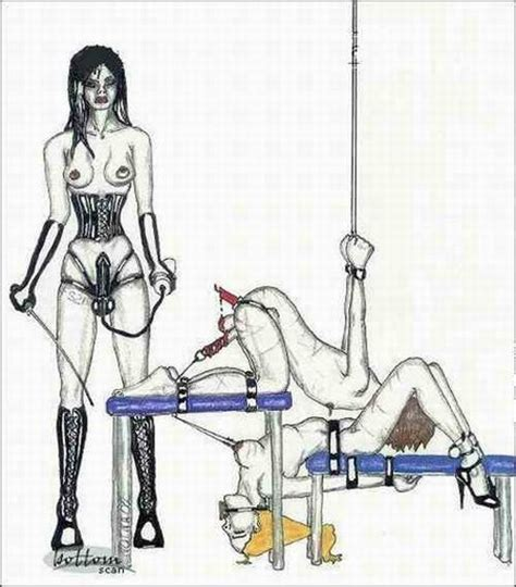 Submissive Sissy Drawings Feminized Malesub Artwork