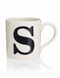 letter s mug ms With letter s mug