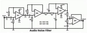 Audio Noise Filter Circuit