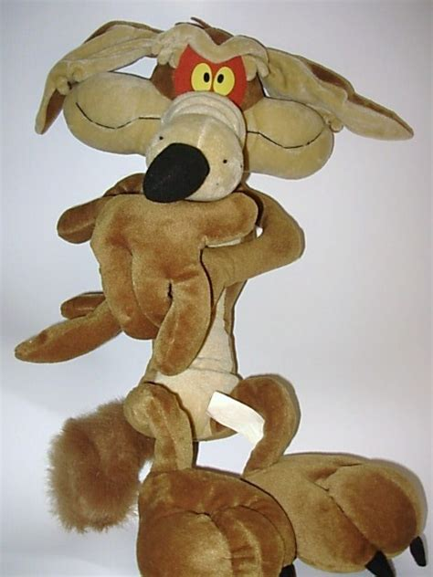looney tunes wile  coyote large plush doll stuffed animal