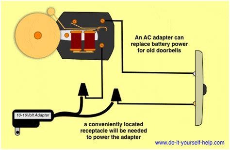 wiring diagrams for household doorbells do it yourself help