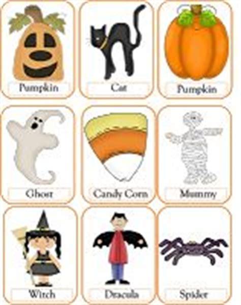 Flashcard, Preschool And Halloween On Pinterest