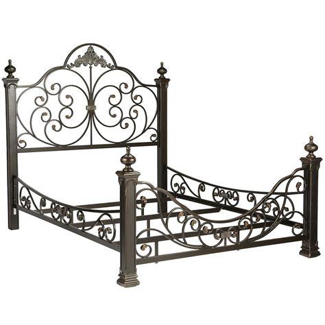 baroque metal bed frame  beds  headboards
