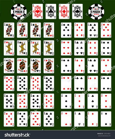 Poker Cards Stock Vector 137014001 Shutterstock