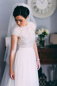 20 gorgeous two piece wedding dresses southbound bride With two piece dresses for weddings