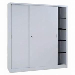 armoire a monter avec portes coulissantes haute With monter des portes coulissantes
