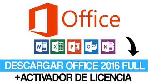 Office 2016 Profesional Full + Activador [ 32 Y 64bits