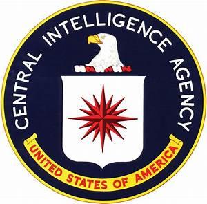 CIA Central Intelligence Agency crime usa america spy logo ...