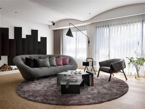 ligne roset canapé ploum living room furnished with ploum sofa live beautifully