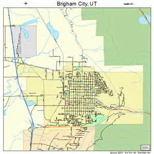Brigham City Utah Street Map