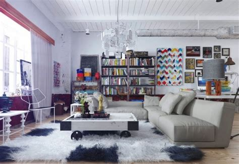 Colorful And Funky Interiors Visualized colorful and funky interiors visualized