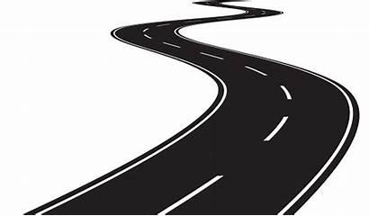 Road Vector Curve Curved Clip Illustration Vectors