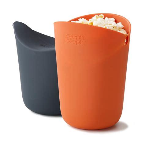 cuisine joseph m cuisine popcorn maker set of 2 by joseph joseph