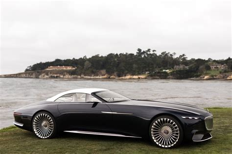 vision mercedes maybach  cabriolet future  luxury cars